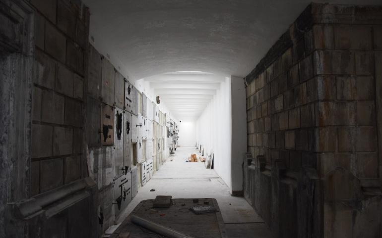 COMM PRESSE | Dernière phase de la restauration des galeries funéraires du cimetière de Laeken