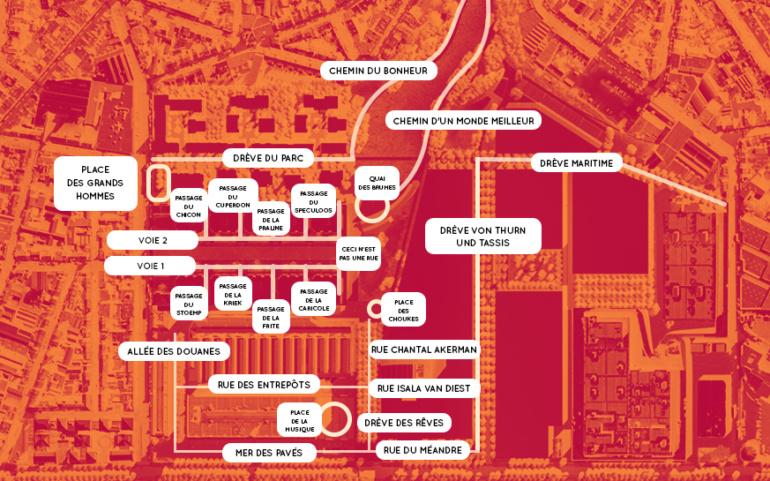 COMM PRESSE |  Tour & Taxis devient un nouveau quartier