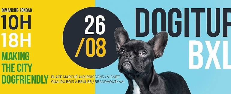 COMM PRESSE |  La Ville de Bruxelles soutient la plate-forme « Dogitup »